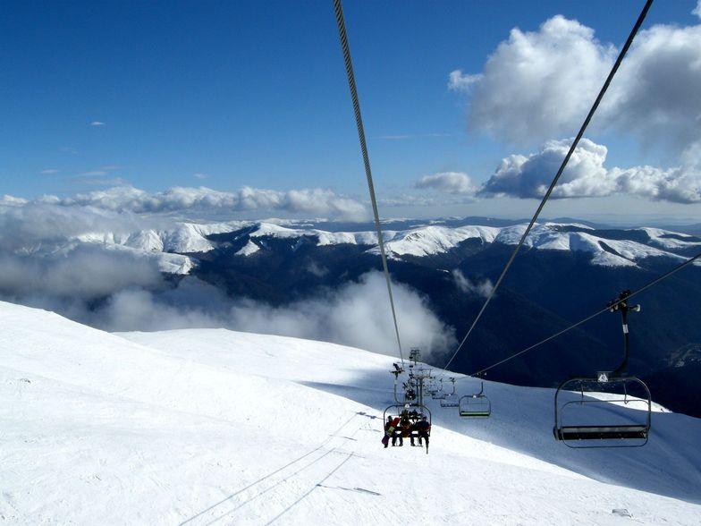 Snowy peaks, Sinaia