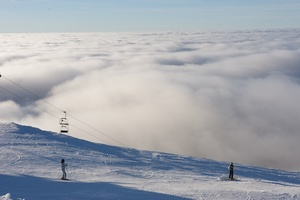 Sea of clouds, La Dôle photo