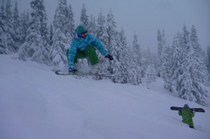 Michelle, Stevens Pass photo