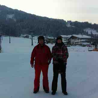 cold morning, Westendorf