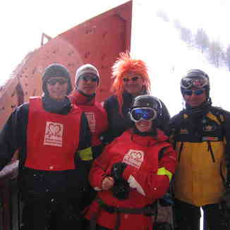 British Heart Foundation Ski Challenge 2006, Chamonix