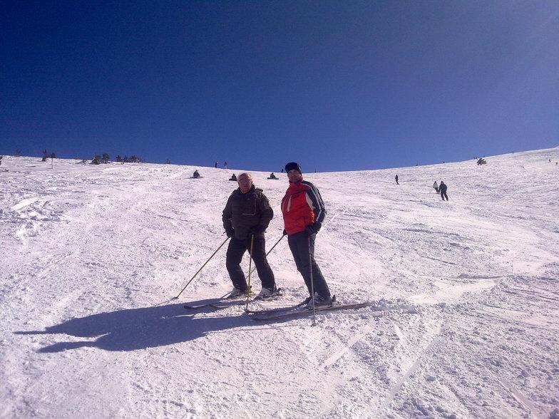 skiing with the master of halastra sir F.Papafotis, Seli