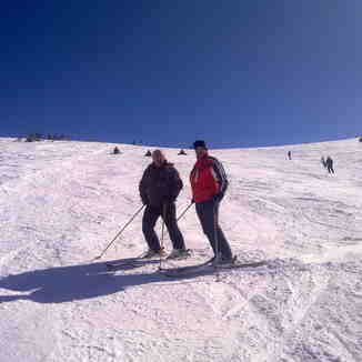 skiing with the master of halastra sir F.Papafotis, Seli