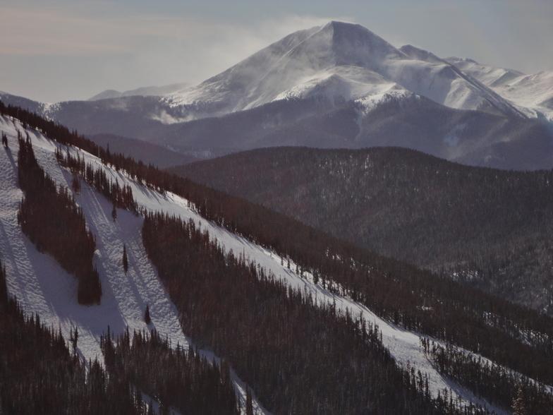 From North Peak, Keystone
