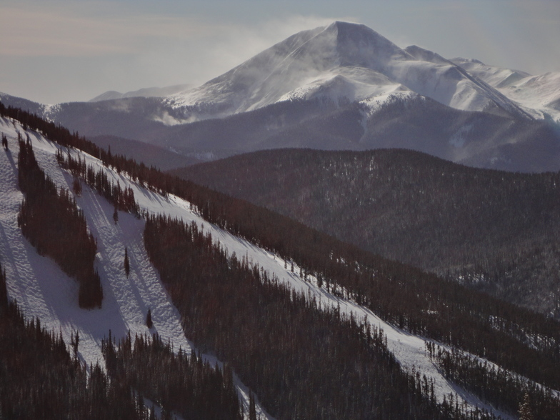 From North Peak, Keystone