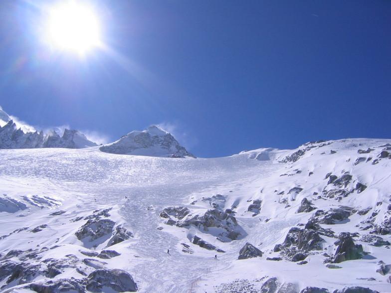 Argentiere Glacier March 2006, Chamonix