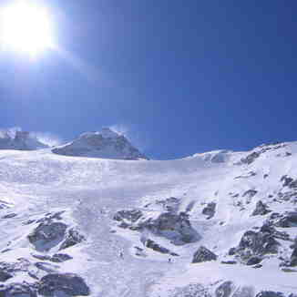 Argentiere Glacier March 2006, Chamonix