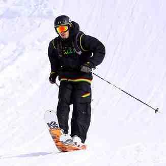 Elastic skis ride, Brezovica