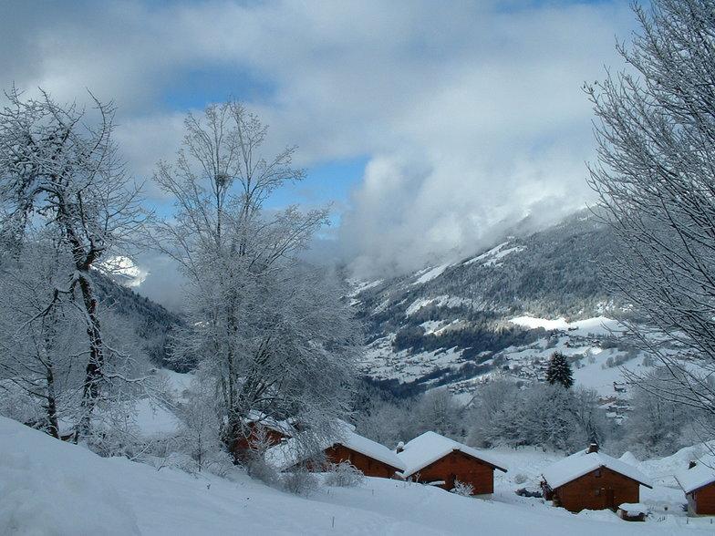Saint Jean Montclar snow