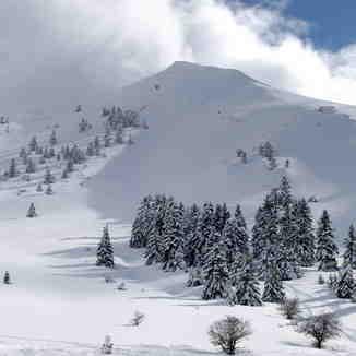 Profitis Hlias peak 2000m, Kalavryta Ski Resort