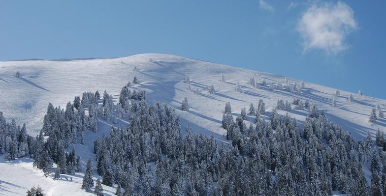 To Aygo 2120m, Kalavryta Ski Resort