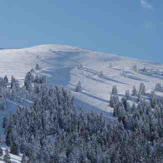 To Aygo 2120m, Kalavryta Ski Resort