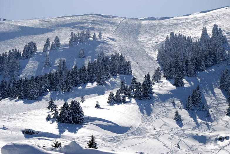 Helmos ski resort, Kalavryta Ski Resort