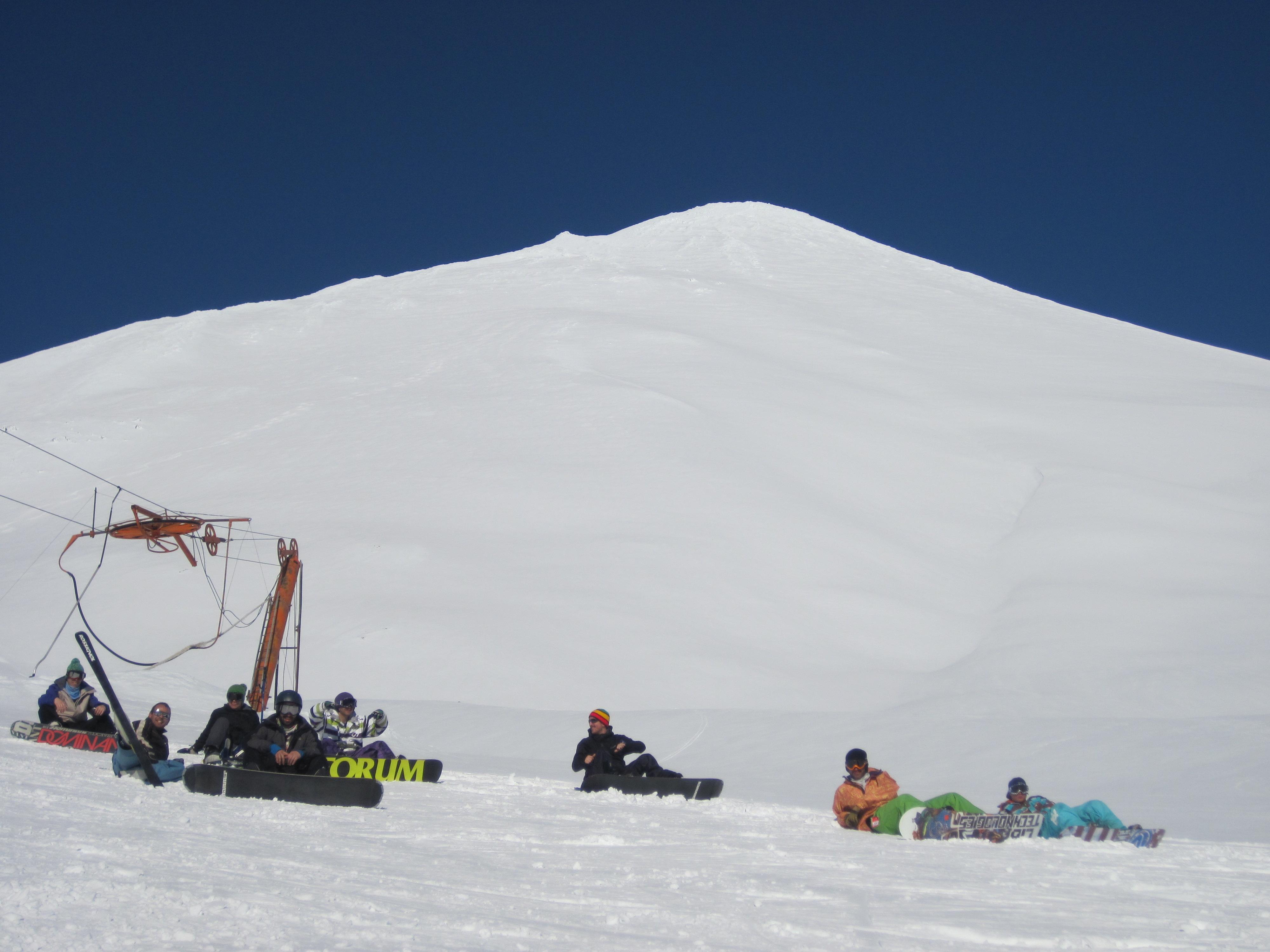 Ecobiobio,volcan antuco Chile