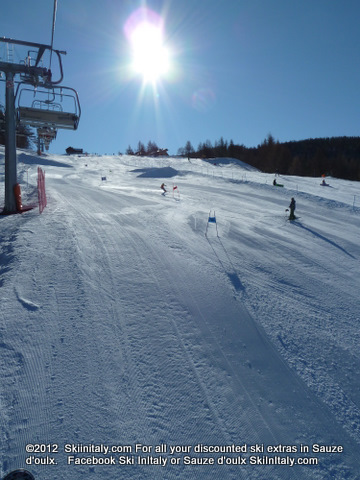 Sauze d'Oulx (Via Lattea) Ski Resort by: SkiInItaly.com      Facebook Ski InItaly
