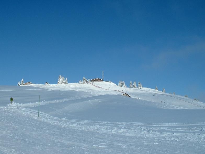 La Clusaz snow