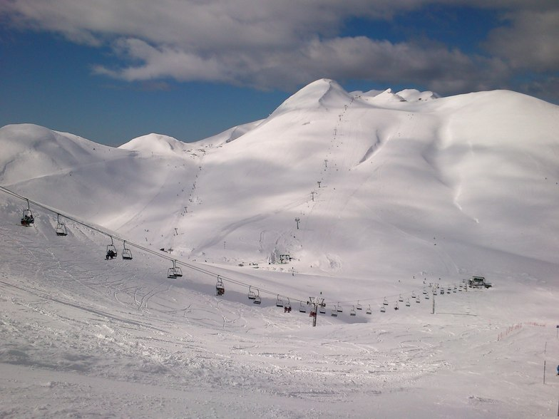 great weather,increadible snow!!, Karpenisi