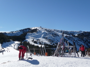 Dia de Nieve, Vallnord-Pal photo