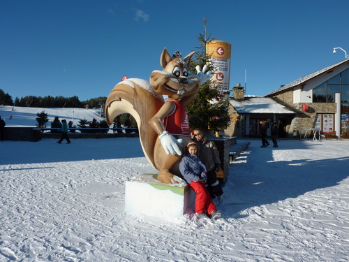Vallnord-Pal Ski Resort by: Angel