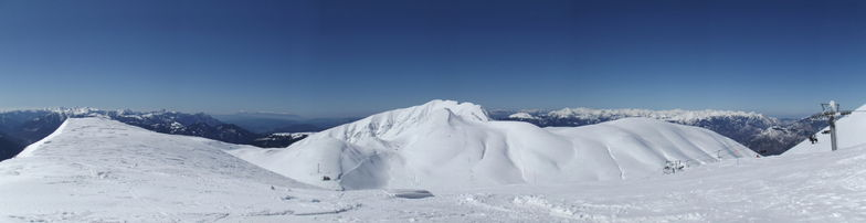 panoramic Mt.Velouxi, Karpenisi