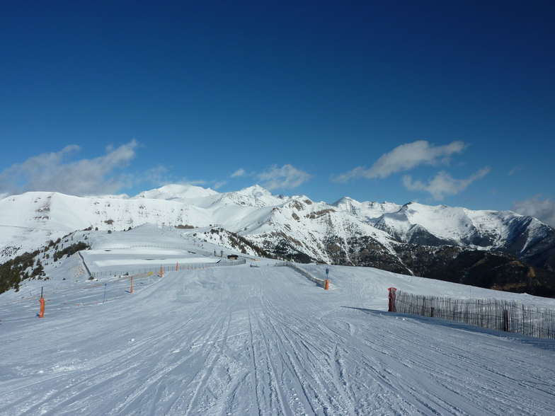 Vallnord-Pal snow