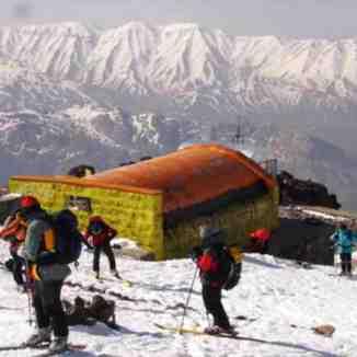 Ski-climbing to Mt Damavand Summit by pirvaly@gmail.com, Mount Damavand