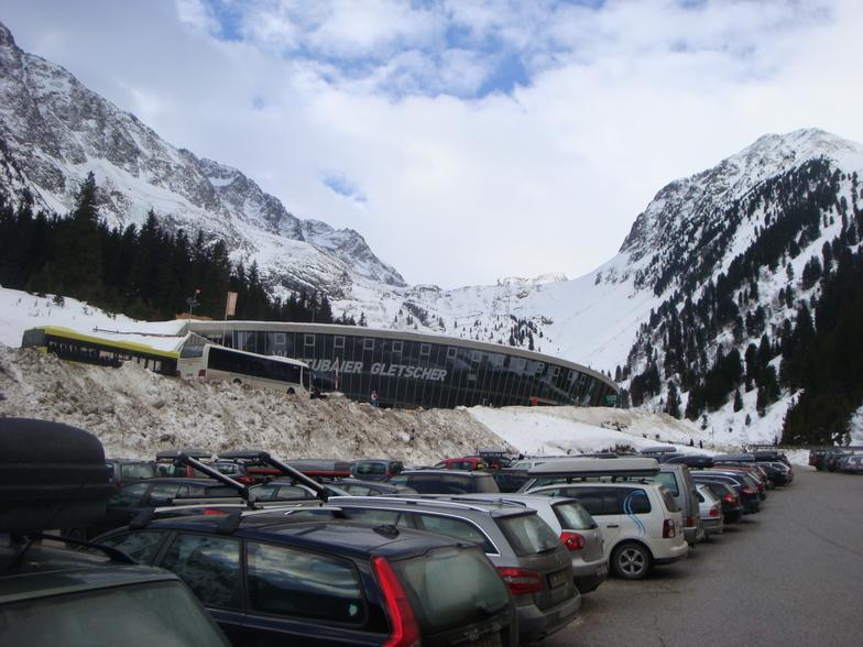 Bottom station, Stubai Glacier