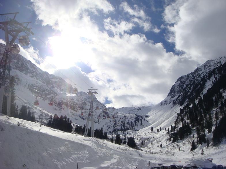 From Bottom station, Stubai Glacier