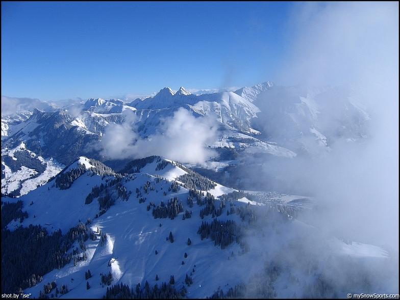 Moléson s/Gruyères snow