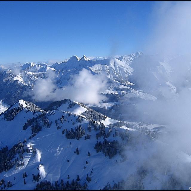 Moléson, Switzerland, Moléson s/Gruyères