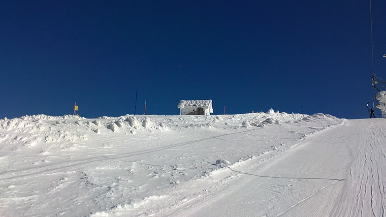 odysseas in freeze, Mt Parnassos-Kelaria