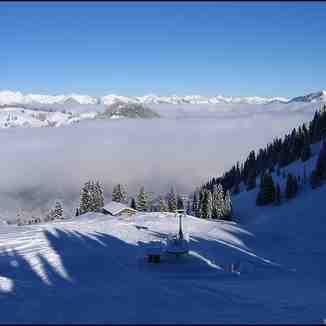 Gstaad - Schönried - Saanenmöser snow forecast for 1900 m