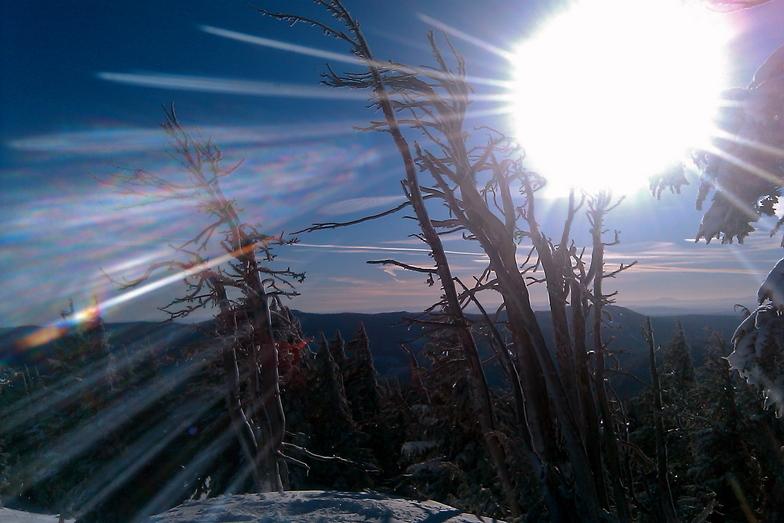 cosmic photons, Mt Hood Meadows