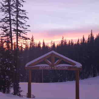 Sovereign Sunset, Sovereign Lake Nordic Centre