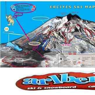 new ski  map 2011-2012, Erciyes Ski Resort