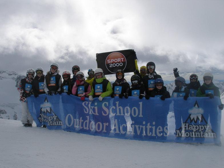 Happy Mountain Ski School, Stubai Glacier