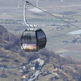 Veysonnaz cablecar, Veysonnaz-Printse