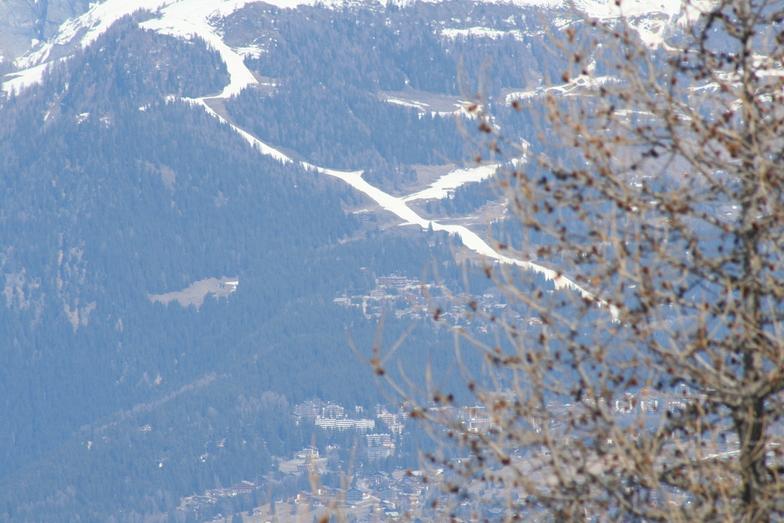 Artificial snow, Crans Montana
