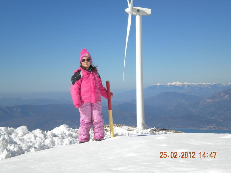 panaxaiko mountain 25-2-12, Kalavryta Ski Resort