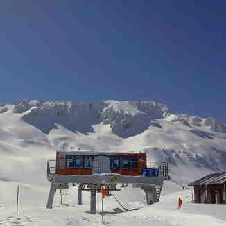 Top of Davraz hill