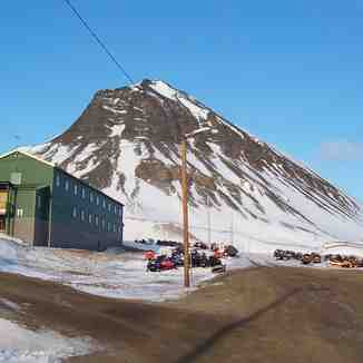 Our chalet, Spitsbergen 80 degrees north
