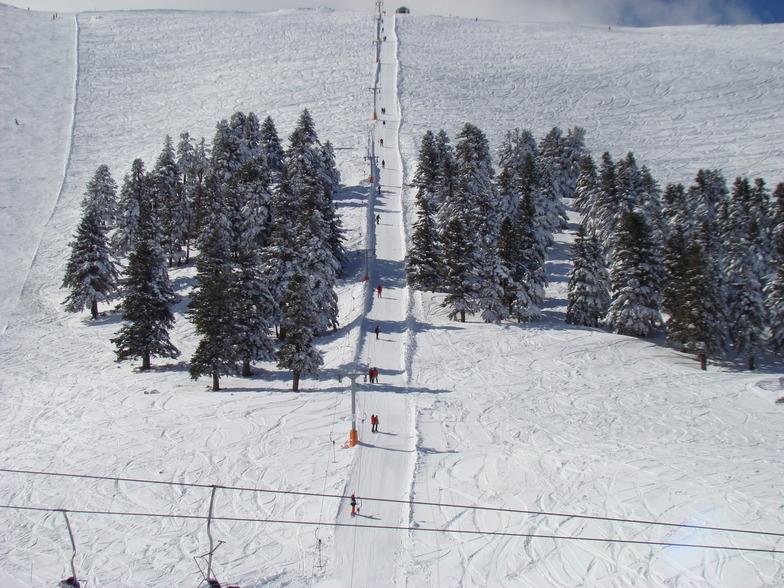 LETS GO FOR SKIING, Kalavryta Ski Resort