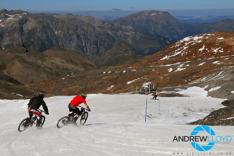 Les Deux Alpes, August 2008