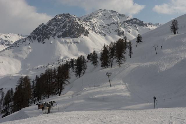 Vichères-Liddes snow