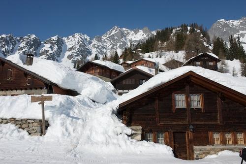 Les Marécottes - Salvan Ski Resort by: Chris Patient