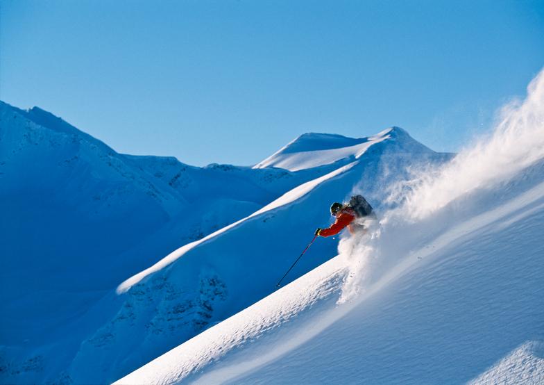 Last Frontier Heliskiing snow