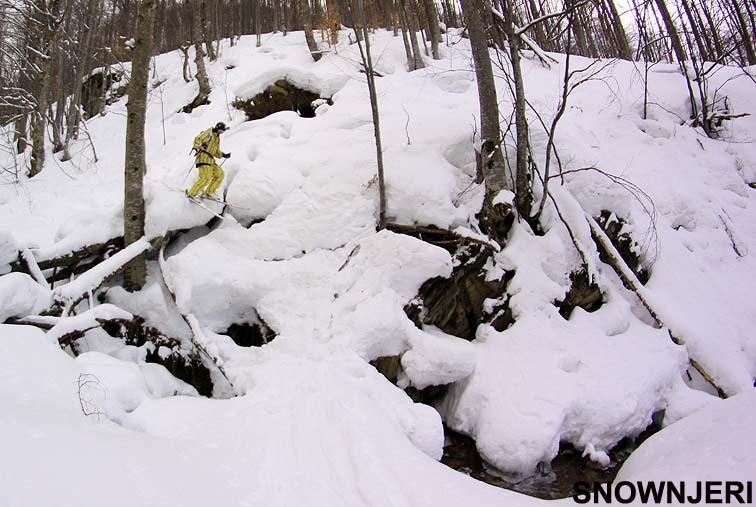 Hardcore forest skiing, Brezovica