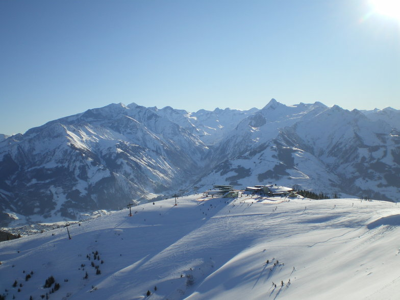 From the top of the Schmittenhöhe, Zell am See