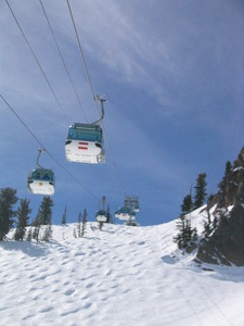 Under the Gondola @ Snowbasin photo