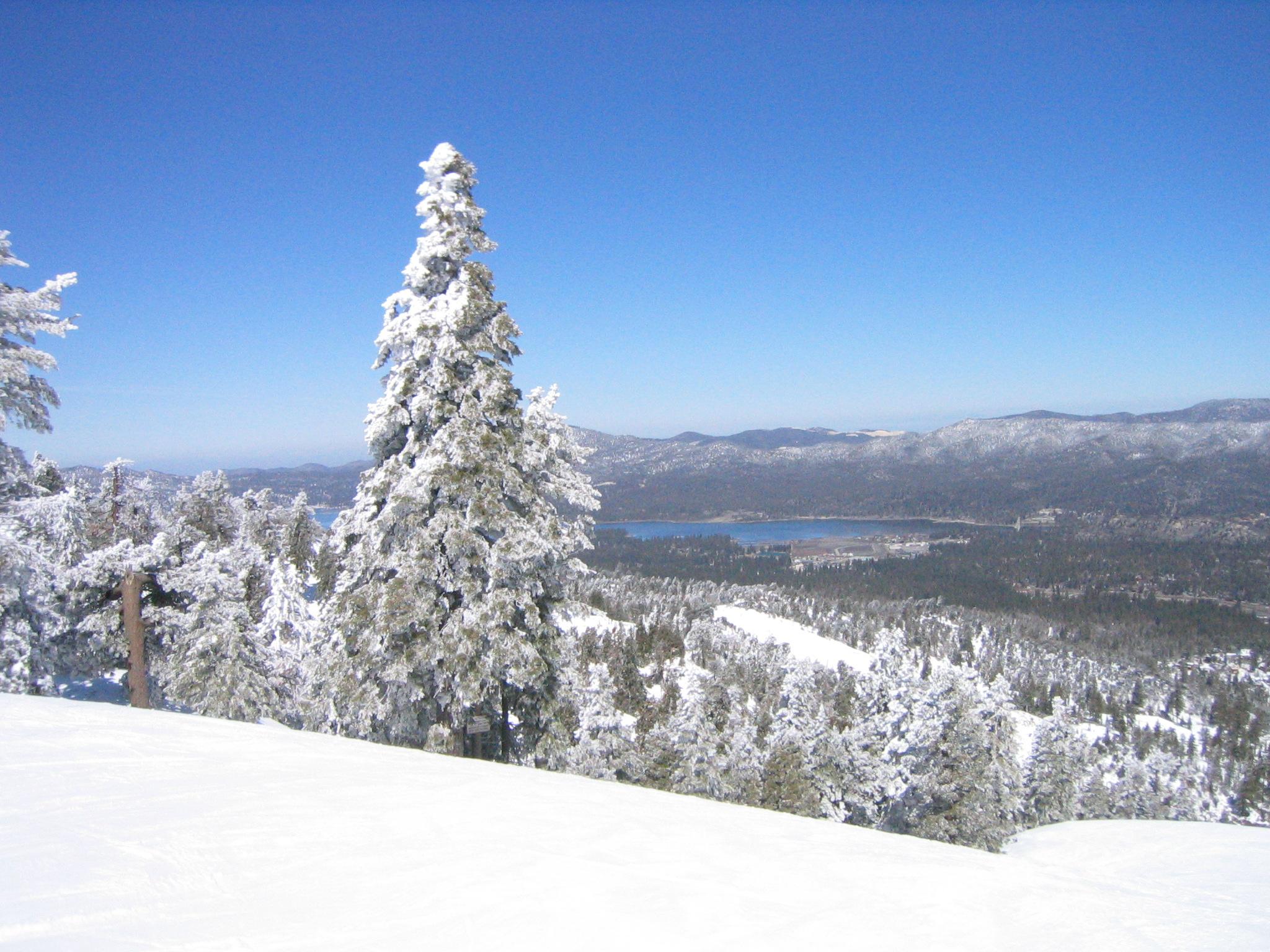 Fresh Powder on Good Friday at Bear Mtn, Bear Mountain